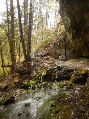 Waterfall at Manuel Creek, Cawston
